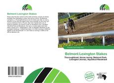 Bookcover of Belmont Lexington Stakes