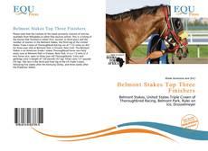Portada del libro de Belmont Stakes Top Three Finishers