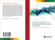 Portada del libro de O software geogebra como uma ferramenta no ensino de matemática