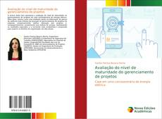 Capa do livro de Avaliação do nível de maturidade do gerenciamento de projetos