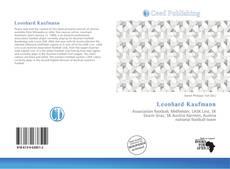 Leonhard Kaufmann的封面