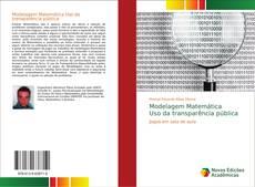 Capa do livro de Modelagem Matemática Uso da transparência pública