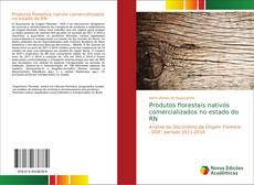 Capa do livro de Produtos florestais nativos comercializados no estado do RN