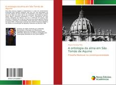 Capa do livro de A ontologia da alma em São Tomás de Aquino