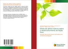 Bookcover of Efeito do deficit hídrico sobre o desenvolvimento do feijão fava