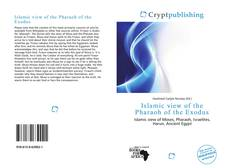 Bookcover of Islamic view of the Pharaoh of the Exodus
