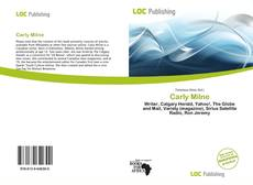 Bookcover of Carly Milne