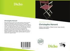 Couverture de Christophe Honoré