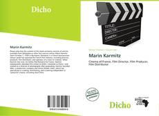 Bookcover of Marin Karmitz