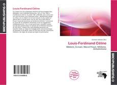 Couverture de Louis-Ferdinand Céline