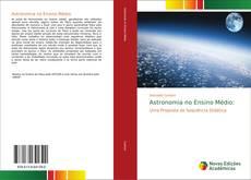 Astronomia no Ensino Médio: kitap kapağı