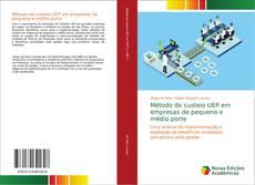 Обложка Método de custeio UEP em empresas de pequeno e médio porte