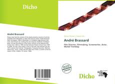 Bookcover of André Brassard