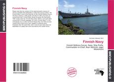 Bookcover of Finnish Navy