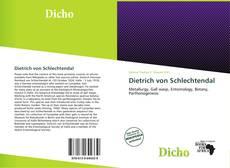Portada del libro de Dietrich von Schlechtendal