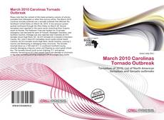 Bookcover of March 2010 Carolinas Tornado Outbreak