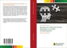 Estudos em Ciências Sociais Aplicadas: um olhar multidisciplinar kitap kapağı
