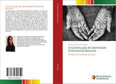 Capa do livro de A Construção de Identidade Profissional Docente