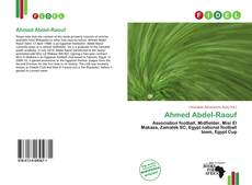 Bookcover of Ahmed Abdel-Raouf