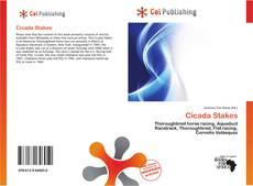 Capa do livro de Cicada Stakes