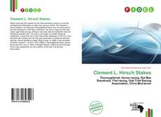 Bookcover of Clement L. Hirsch Stakes