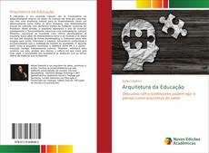 Capa do livro de Arquitetura da Educação