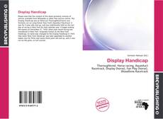 Buchcover von Display Handicap