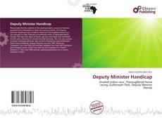 Portada del libro de Deputy Minister Handicap