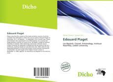 Copertina di Edouard Piaget