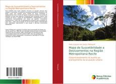 Capa do livro de Mapa de Suscetibilidade a Deslizamentos na Região Metropolitana Recife