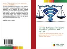 Capa do livro de Análise de Redes Sem Fio com diferentes protocolos IEEE 802.11