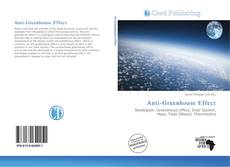 Bookcover of Anti-Greenhouse Effect