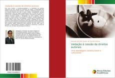 Portada del libro de Vedação à cessão de direitos autorais