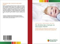 Borítókép a  Os direitos das crianças na educação infantil - hoz