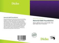 Bookcover of Heinrich Böll Foundation