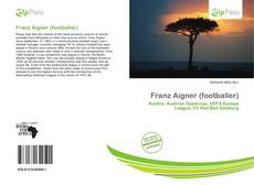 Franz Aigner (footballer)的封面
