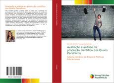 Portada del libro de Avaliação e análise da produção científica dos Qualis Periódicos