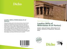 Bookcover of Laodice (Wife of Mithridates III of Pontus)