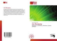 Buchcover von Jan Bucquoy