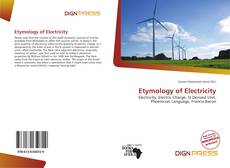 Etymology of Electricity的封面