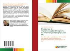 Portada del libro de Da agenda à implementação:O Programa de Intervenção Pedagógica de MG