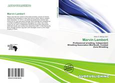 Bookcover of Marvin Lambert