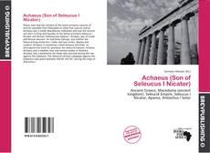 Couverture de Achaeus (Son of Seleucus I Nicator)