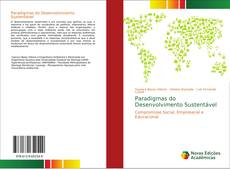 Capa do livro de Paradigmas do Desenvolvimento Sustentável