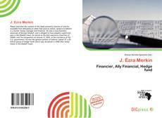 J. Ezra Merkin kitap kapağı