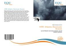 Bookcover of 1890 Atlantic Hurricane Season
