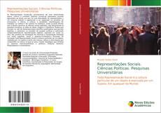 Обложка Representações Sociais. Ciências Políticas. Pesquisas Universitárias