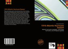 Bookcover of 1916 Atlantic Hurricane Season