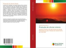Обложка Produção de células solares