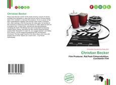 Buchcover von Christian Becker